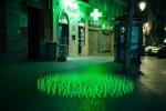 Стрит-арт | Luzinterruptus | Mutant Weeds