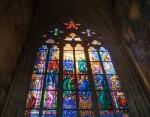 Архитектура | Собор святого Вита | Витраж | © Даня Сафронова