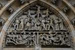 Архитектура | Собор святого Вита | Тимпан | © Даня Сафронова