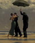 Живопись | Джек Веттриано | Dancer in Emerald
