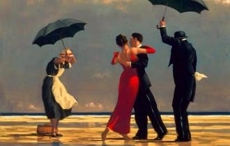 Ретро-танцы под зонтом, невероятные превращения глины и другие удивительные шедевры искусства!