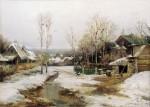 Живопись | Иван Вельц | Весной в окрестностях Петербурга, 1896
