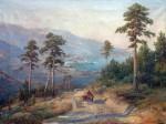 Живопись | Иван Вельц | Вид Ялты, 1900