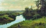 Живопись | Иван Вельц | Лесная речка, 1904