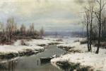 Живопись | Иван Вельц | Начало зимы, 1904