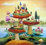Живопись | Михай Даскалу | Mushrooms