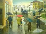 Живопись | Михай Даскалу | Red Umbrella