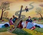 Живопись | Михай Даскалу | Stairway To Heaven