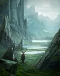Живопись | Рафаэль Лакост | Asgard's Journey