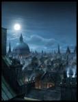 Живопись | Рафаэль Лакост | London Rooftops