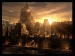 Живопись | Рафаэль Лакост | Sunset on Babylon