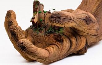 Керамика, Которая Притворяется Деревом, И Перевоплощение Мусорного Бака.