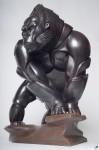 Скульптура | Глеб Крюков | Вожак с вершин Вирунги
