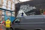 Стрит-арт | FUZI | Москва, Бумажный проезд, дом 19