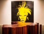 Выставки | Энди Уорхол/Ай Вэйвэй | «Карта Китая» (Ай Вэйвэй) и автопортрет (Энди Уорхол)