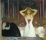 Живопись | Эдвард Мунк | Пепел, 1894