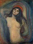 Живопись | Эдвард Мунк | Мадонна, 1894