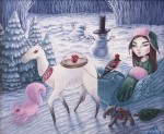 Живопись | Полина Шелест | Frosty heart
