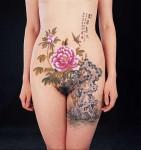 Боди-арт | Сейи Вудзиань