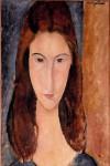 Живопись | Амедео Модильяни | Жанна Эбютерн, 1919