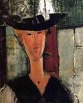 Живопись | Амедео Модильяни | Мадам Помпадур, 1914