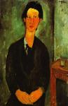 Живопись | Амедео Модильяни | Портрет Хаима Сутина, 1917