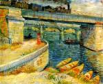 Живопись | Винсент ван Гог | Мост через Сену, 1887