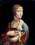 Живопись | Леонардо да Винчи | Дама с горностаем, 1490