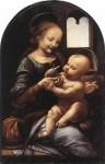 Живопись | Леонардо да Винчи | Мадонна Бенуа, 1478-80