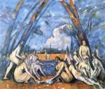 Живопись | Поль Сезанн | Купальщицы, 1906