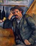 Живопись | Поль Сезанн | Мужчина с трубкой, 1890
