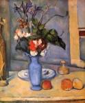 Живопись | Поль Сезанн | Натюрморт с голубой вазой, 1889-90