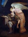 Живопись | Поль Сезанн | Поцелуй Музы, 1860