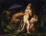 Живопись | Поль Сезанн | Сатиры и Нимфы, 1867