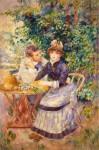Живопись | Пьер Огюст Ренуар | В саду, 1885