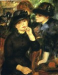 Живопись | Пьер Огюст Ренуар | Девушки в чёрном, 1880-82