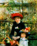 Живопись | Пьер Огюст Ренуар | На террасе, 1881