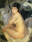 Живопись | Пьер Огюст Ренуар | Обнажённая, 1876