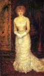 Живопись | Пьер Огюст Ренуар | Портрет актрисы Жанны Самари, 1878