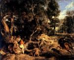Живопись | Питер Пауль Рубенс | Boar Hunt, 1615-20