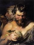 Живопись | Питер Пауль Рубенс | Two Satyrs, 1618-19