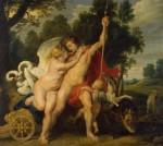 Живопись | Питер Пауль Рубенс | Venus And Adonis, 1614