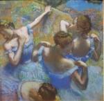 Живопись   Эдгар Дега   Голубые танцовщицы, 1897