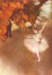 Живопись   Эдгар Дега   Звезда балета (Прима-балерина), 1876-78