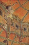 Живопись   Эдгар Дега   Мисс Лала в цирке Фернандо, 1879