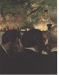 Живопись   Эдгар Дега   Музыканты в оркестре, 1870-71