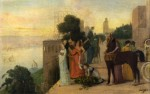 Живопись | Эдгар Дега | Семирамида Закладывает Город, 1861