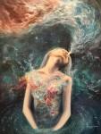 Живопись | Эрика Векслер | Love will Split You Open