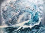 Живопись | Эрика Векслер | Spirits of the Sea
