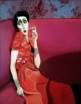 Живопись | Slava Fokk | Lady in Red